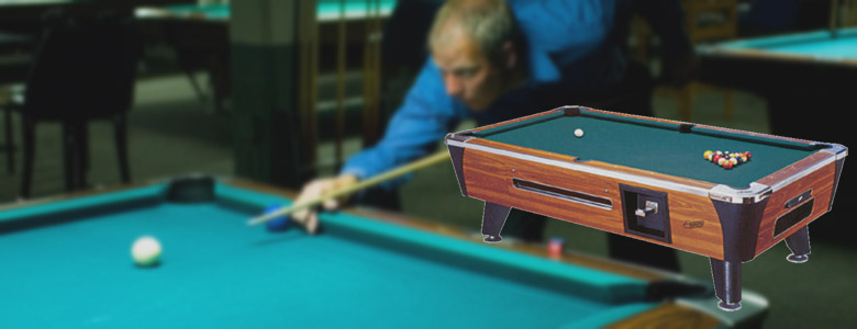 Pool Tables DE Vending - Area needed for pool table